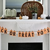 Trick-or-Treat Yo' Self Banner