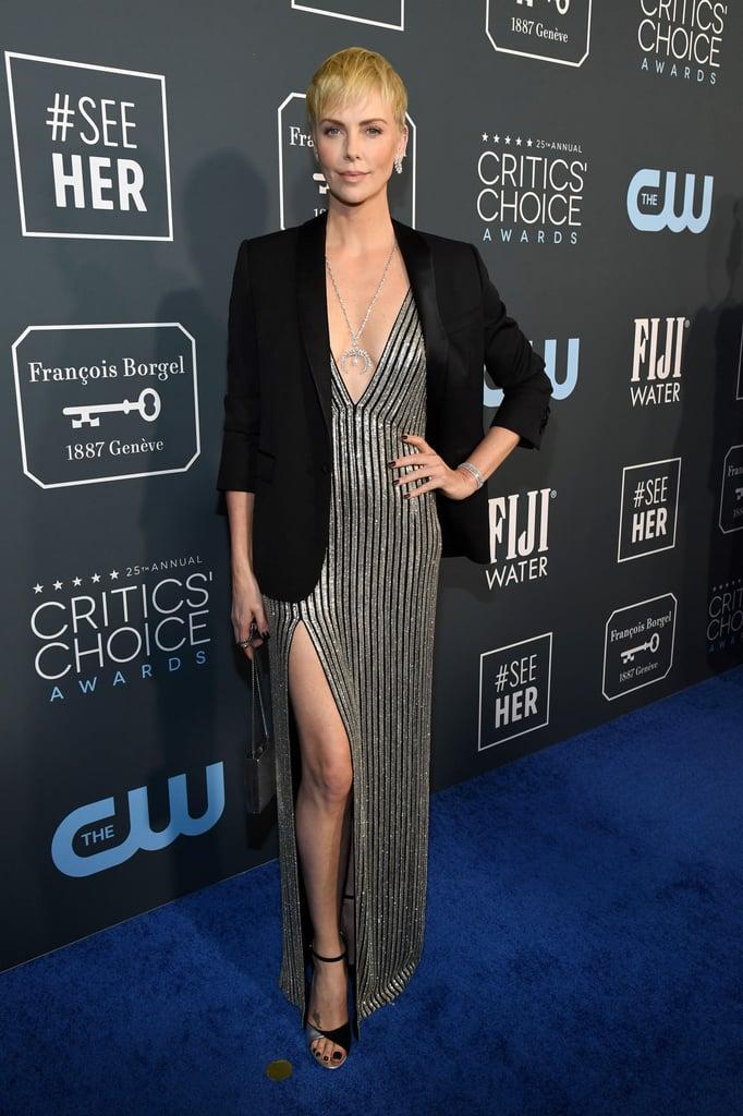 Charlize Theron at the 2020 Critics' Choice Awards