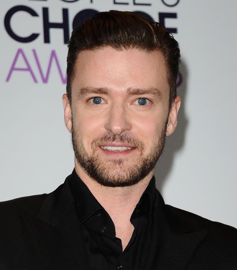 Justin Timberlake Hair 2017