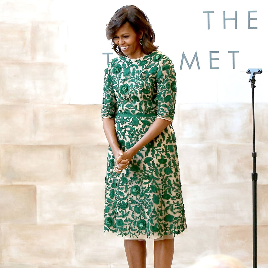 Pictures of Michelle Obama Wearing American Designers