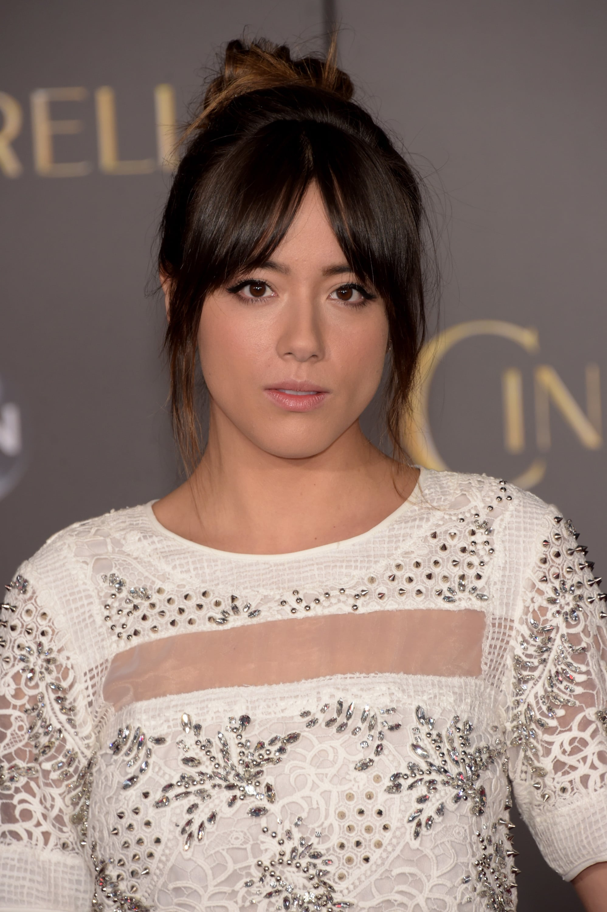 HOLLYWOOD, CA - MARCH 01:  Actress Chloe Bennet attends the premiere of Disney's