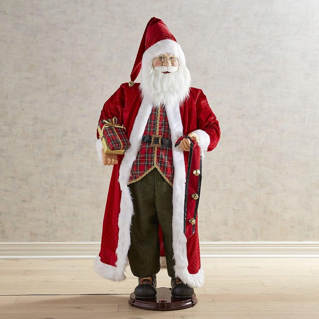"""Christmas Decorations Life Size Santa: Life Size 60"""" Singing And Dancing Santa ($600)"""