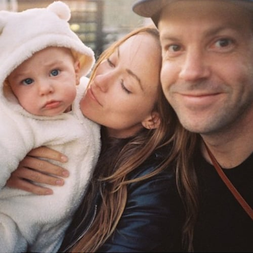 Olivia Wilde Shares Family Photo on Instagram