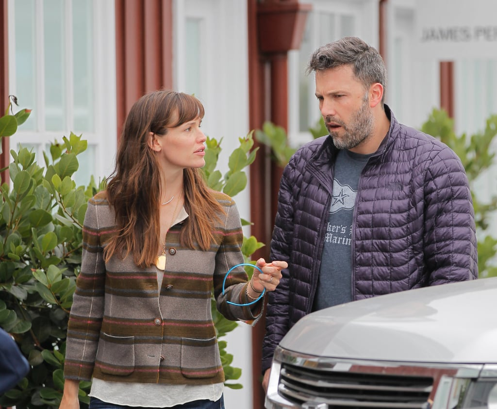 Jennifer Garner and Ben Affleck took their daughter Seraphina to shop at Toy Crazy in the Brentwood Country Mart on Wednesday. The outing marks the second time this week that Ben and Jennifer have been photographed together after their fun family morning at a farmers market on Sunday. Jennifer was all smiles while picking up produce and flowers with her two youngest children, while Ben kept his face covered in a hat and sunglasses. The couple have been plagued by split rumors over the past few weeks, though neither has commented about the speculation. If it really is just rumors, Ben and Jen have an exciting milestone to celebrate later this month — their 10-year wedding anniversary!