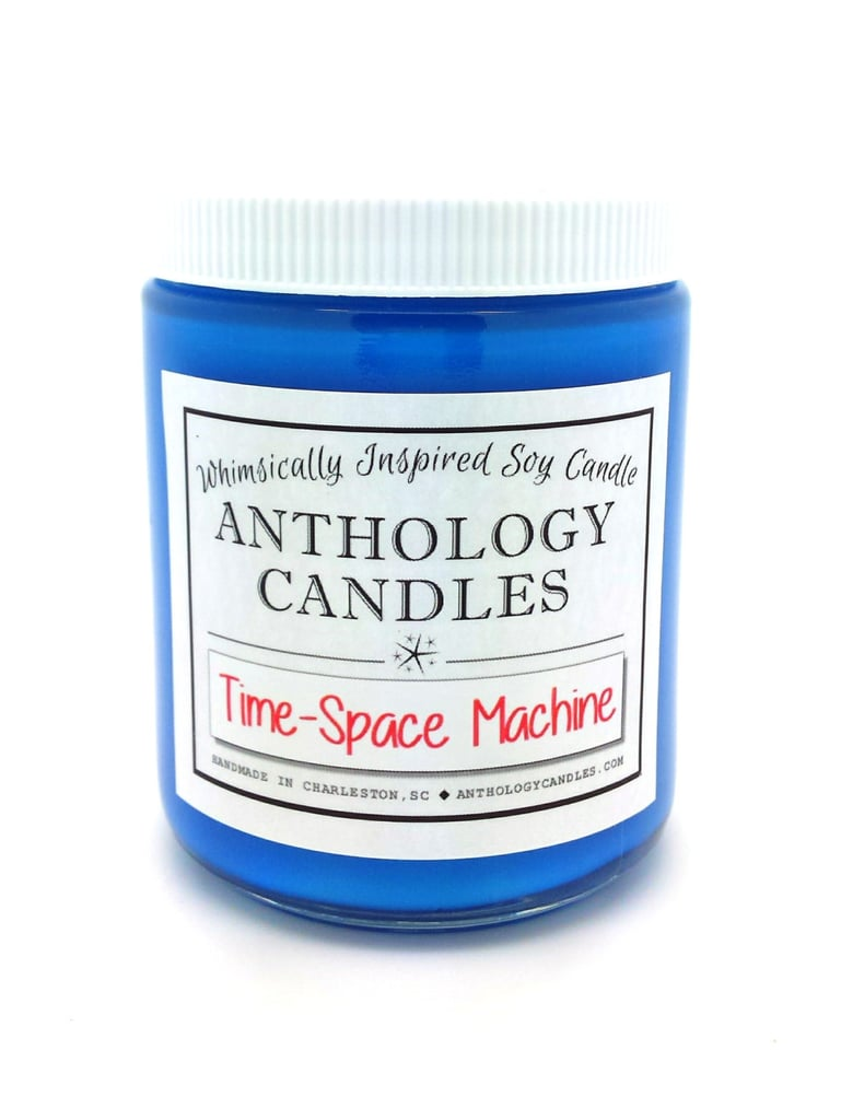 Time-Space Machine candle ($16) with beachwood and black currant notes