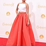 Sarah Hyland at the Emmy Awards