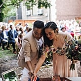 Outdoor Garden Party Wedding in Brooklyn