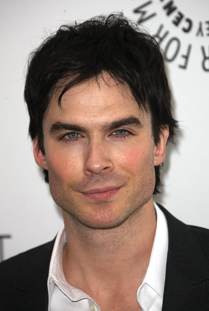 Ian Somerhalder smoldered in front of the camera.