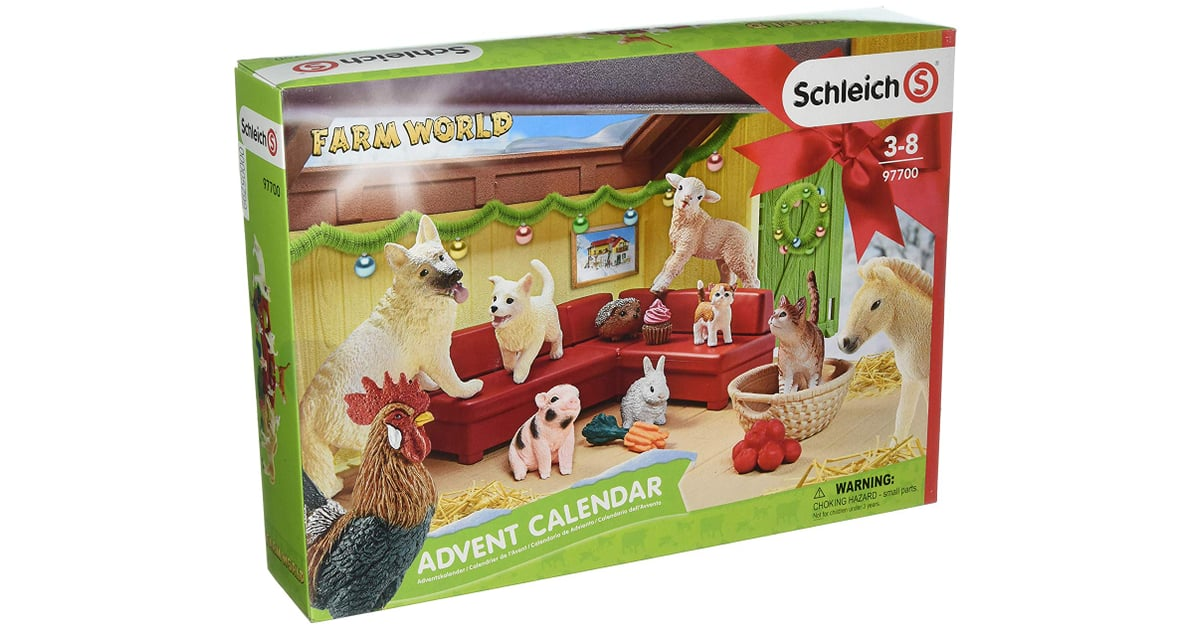 schleich farm world 2018 advent calendar best advent. Black Bedroom Furniture Sets. Home Design Ideas