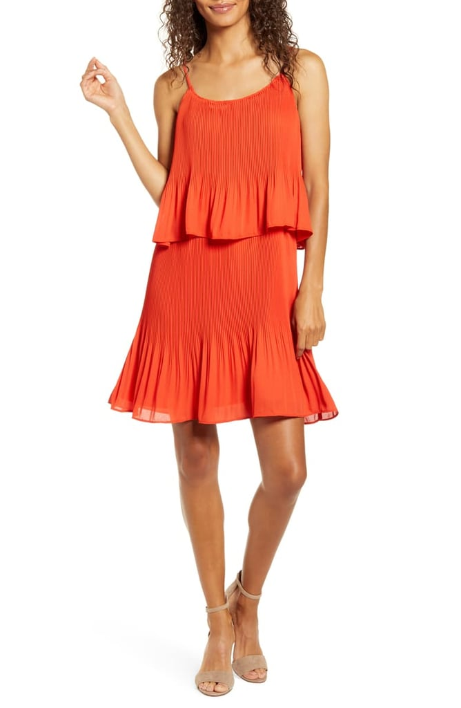 Gibson x City Safari Tara Gibson Pleated Popover Dress