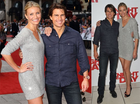 Pictures from the UK Knight and Day Premiere in London With Tom Cruise, Cameron Diaz