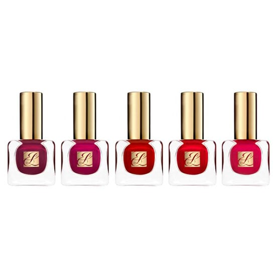 Estée Lauder Pure Color Nail Lacquer Red Hautes Collection, $38 each