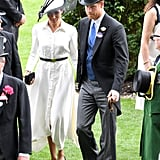 Related:                                                                                                           Harry and Meghan Make Their Loved-Up Debut at Royal Ascot