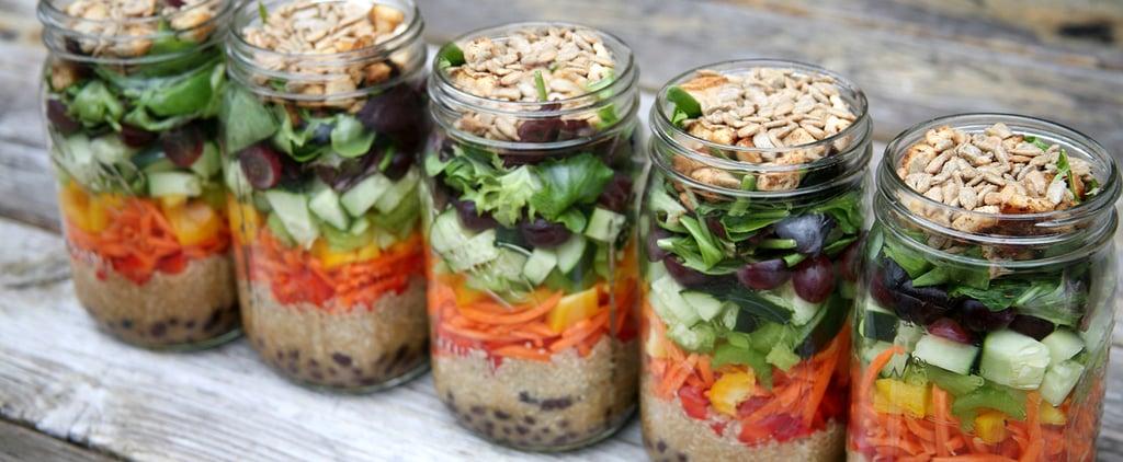 How to Make a Week of Mason Jar Salads