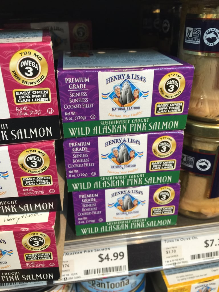 Best Whole Foods Product: Henry & Lisa's Wild Alaskan Pink Salmon ($5)