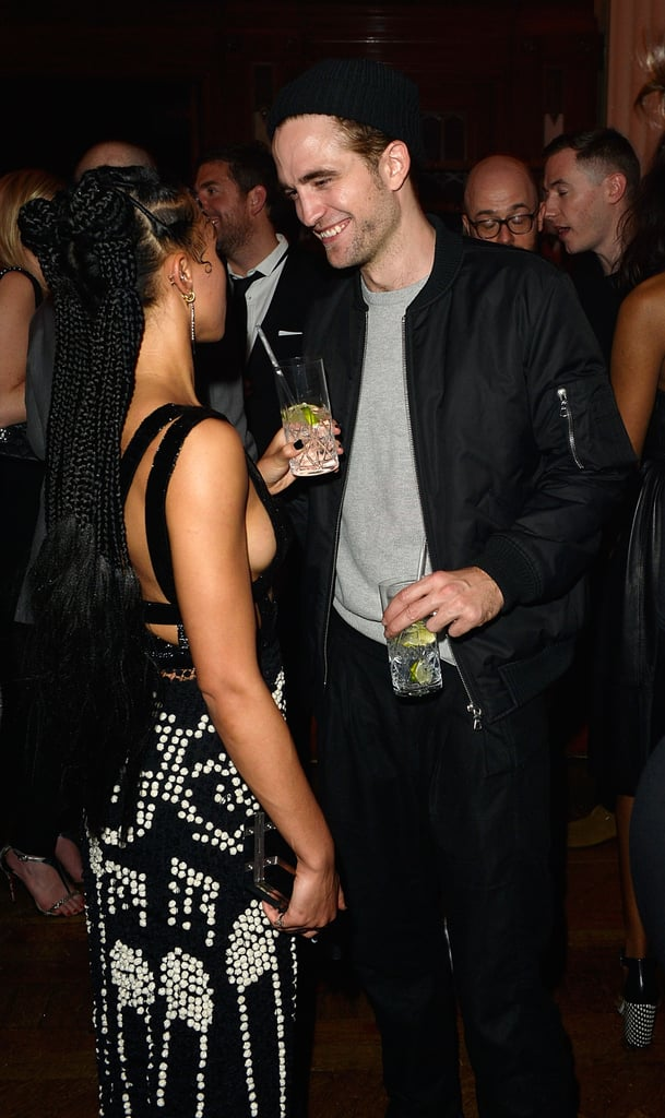 Robert Pattinson and FKA Twigs Make Love Look Easy at a Brit Awards Afterparty