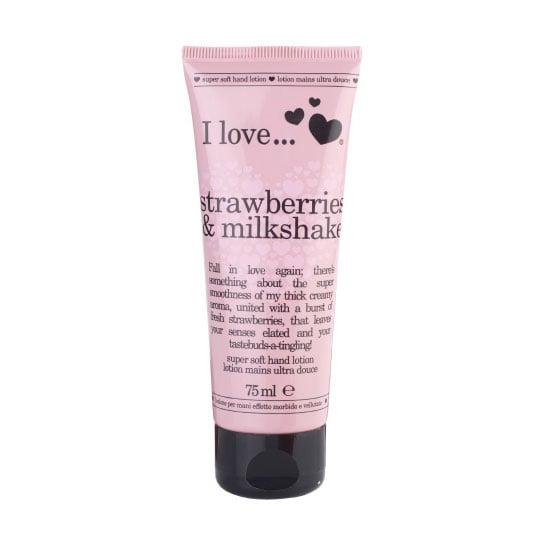 I Love... Strawberries & Milkshake Super Soft Hand Lotion, $7.95