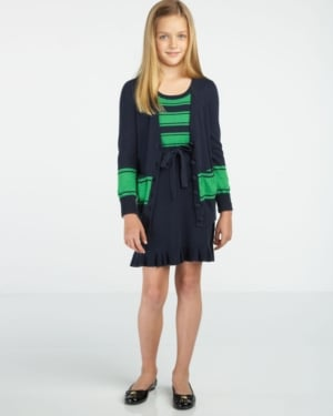 Juicy Couture Preppy Striped Cardigan ($42)