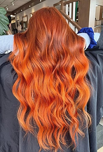 """""""Code Red"""" Hair Color Ideas and Inspiration"""