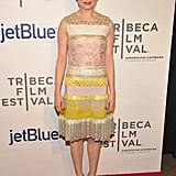 Michelle Williams lit up the carpet at the Tribeca Film Festival.