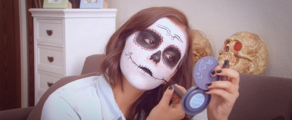 7 Sugar Skull Makeup Tutorials For Día de los Muertos, Straight From Mexican Beauty Bloggers