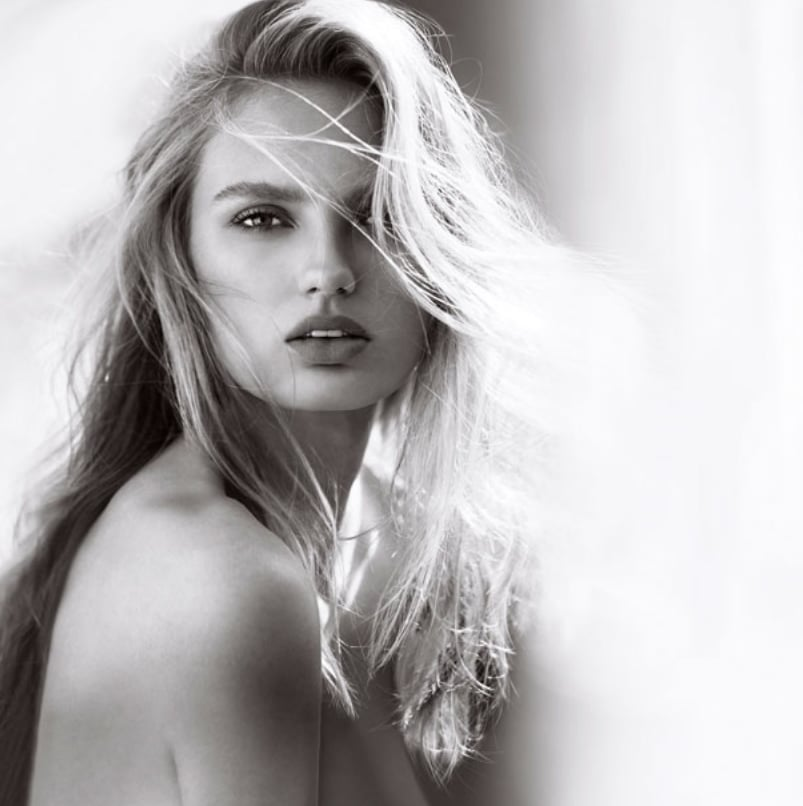 POPSUGAR: Where and how do you spray on fragrance? Romee Strijd: Mostly, I spray my fragrance on my wrists and my neck. Those are warm areas that help to activate the scent. Also, behind my ears, because I feel like it stays for a long time.  PS: What went through your head when Victoria's Secret told you that you were the new face of the XO, Victoria fragrance? RS: I was super honored, and it's my first solo campaign. It's definitely a big highlight in my career. PS: Is that something you always dreamed about when you were younger?  RS: Definitely. I always watched VS shows when I was younger. I loved shooting a commercial. And I love beauty and perfume, so the combination of this was super nice.