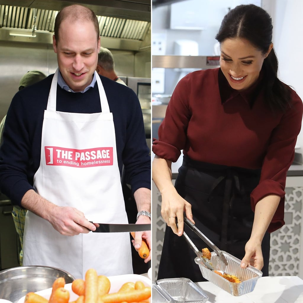 Prince William's Cookbook Joke During The Passage Visit 2019