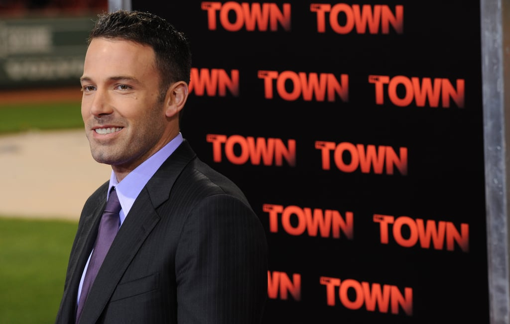 Ben Affleck attended the Boston premiere of The Town held at Fenway Park in September 2010.