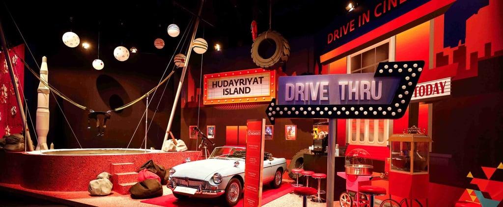 لحظات أبوظبي تطلق فعالية سينما السيارات في جزيرة الحديريات