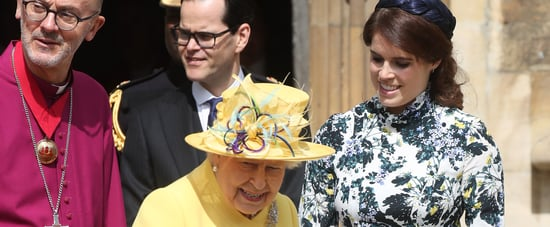 Princess Eugenie Queen Elizabeth II at Maundy Service 2019
