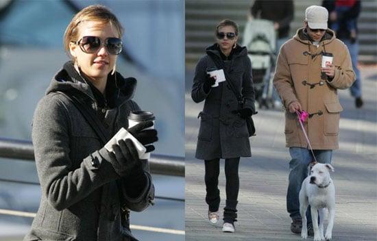 Celebrity Style: Jessica's Cozy Winter Look