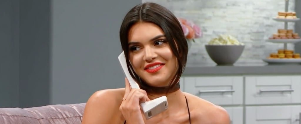 Kim Kardashian's Reaction to Kendall Jenner's Pregnancy Prank Is Priceless