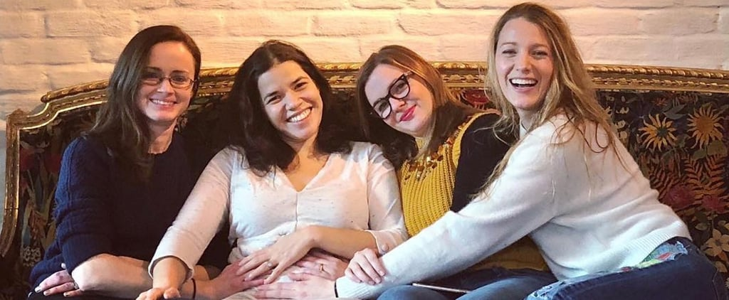 America Ferrera With Sisterhood of the Travelling Pants Cast