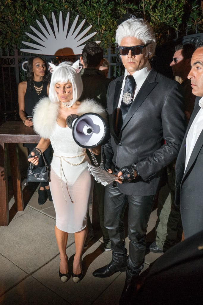 Fergie and Josh Duhamel Karl Lagerfeld Halloween Costume
