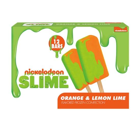Nickelodeon Slime Ice Cream Bars