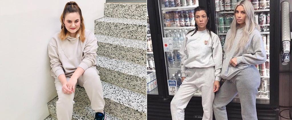 Kim Kardashian Sweatsuit Style | Editor Experiment