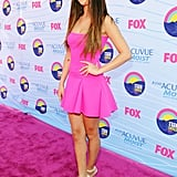 Selena Gomez Celebrates Her Birthday at the Teen Choice Awards