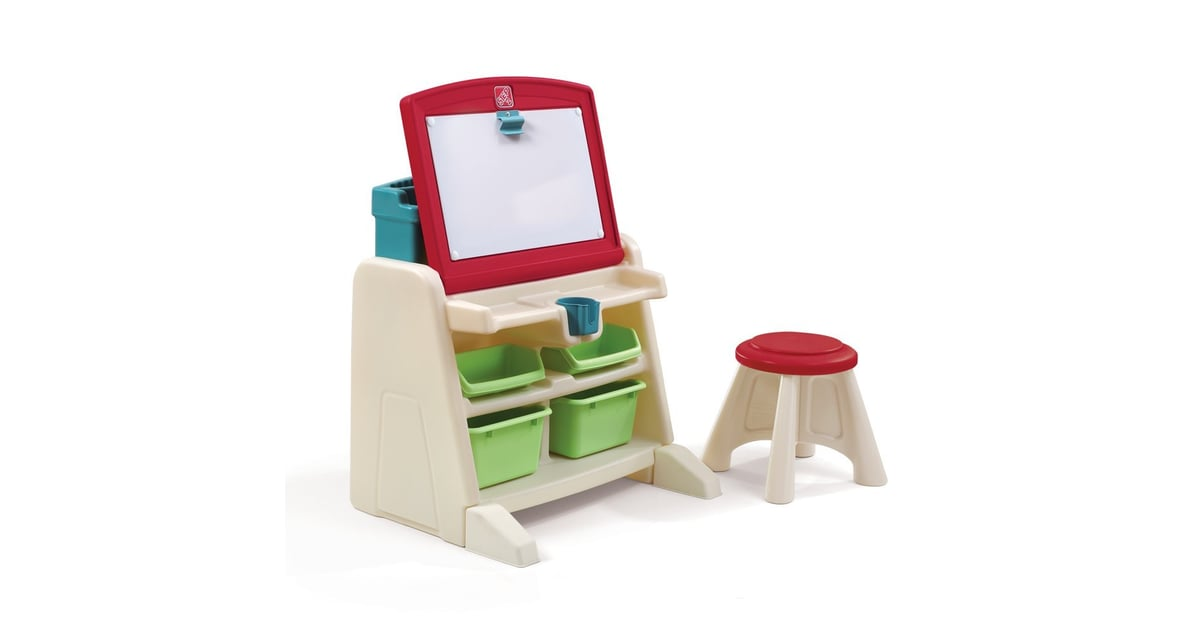 Step2 Flip And Doodle Desk Easel With Stool Tech Free
