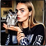 Cara Delevigne with Twinkle