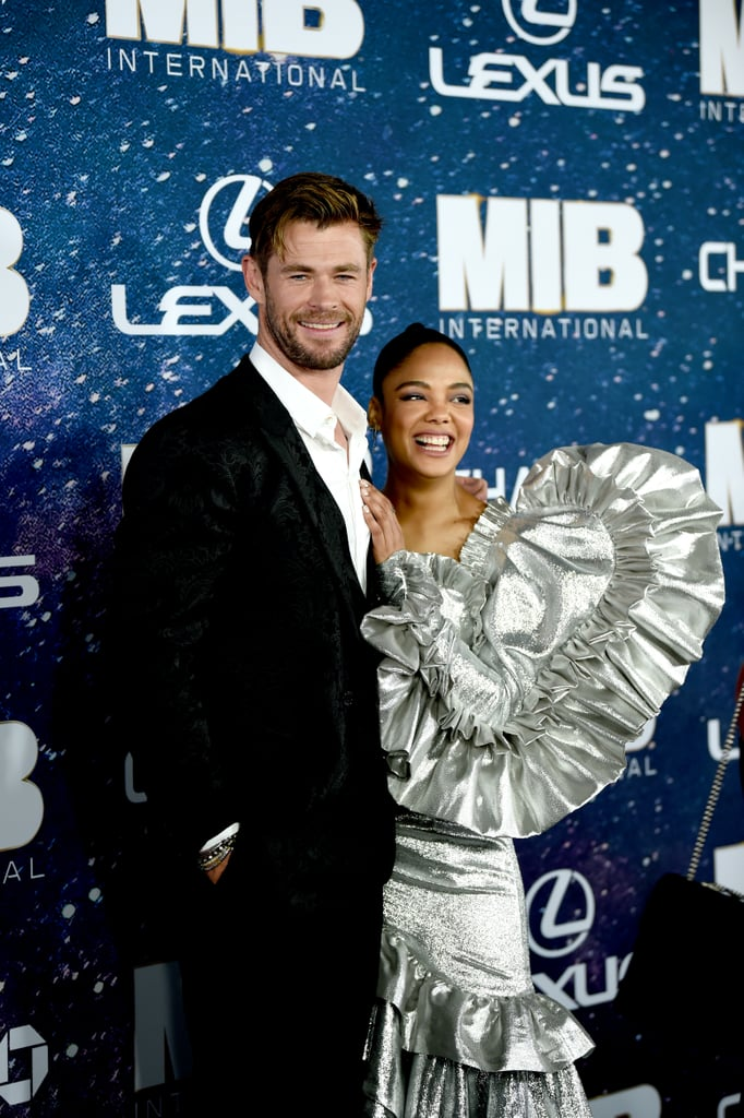 "Chris Hemsworth and Tessa Thompson are back together in Men in Black: International, but their friendship goes beyond the screen. The costars have developed quite the special bond since starring together in 2017's Thor: Ragnarok, which is why Chris was excited to work with Tessa again. In fact, Tessa was actually one of the first people Chris thought of to play Agent M in the action spinoff. ""She was at the top of the list and I said, 'Fantastic, we'll pick where we left off,'"" Chris previously revealed. ""A lot of the time when you work with a costar you spend sometimes the first half of the shoot getting to know each other and so to not have to do that is always a huge relief."" Chris and Tessa will be playing Agent H and Agent M, respectively, with Chris as a top agent in MIB's UK branch and Tessa as a new MIB recruit assigned to the branch. Men in Black: International hits theaters on June 14.       Related:                                                                                                           Here's How Men in Black: International Fits Into the Rest of the MIB Universe"