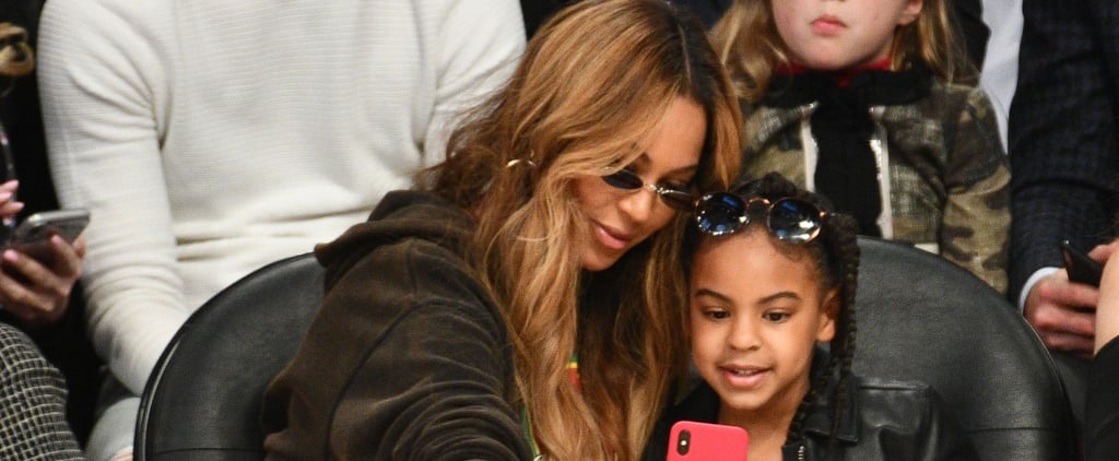 Nothing Stops Beyoncé and Blue Ivy From Taking a Selfie — Including the NBA All-Star Game