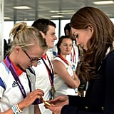Kate Middleton Watches Synchronized Swimming | Pictures