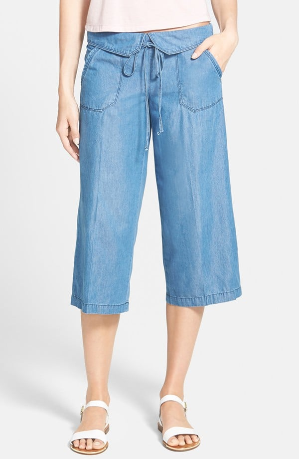 Jolt Denim Gaucho Pants ($46)
