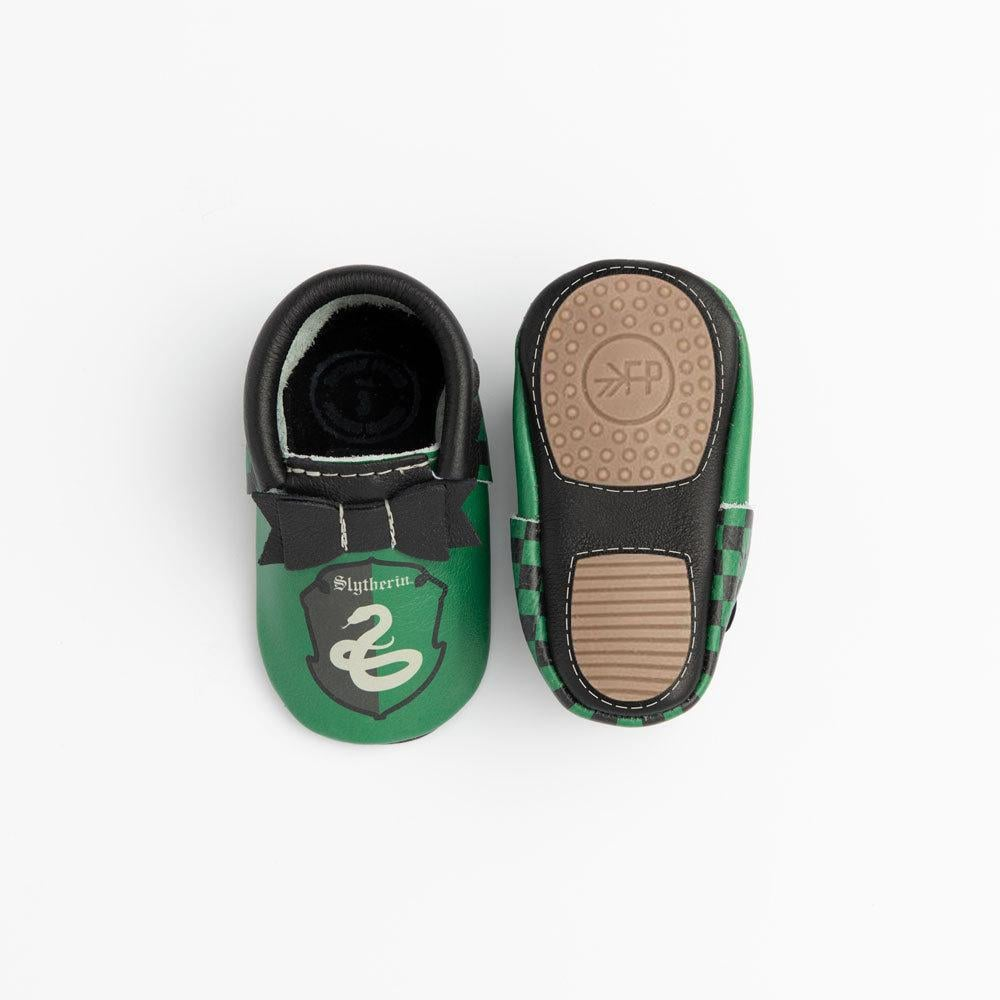 Slytherin Bow Mocc Mini Sole
