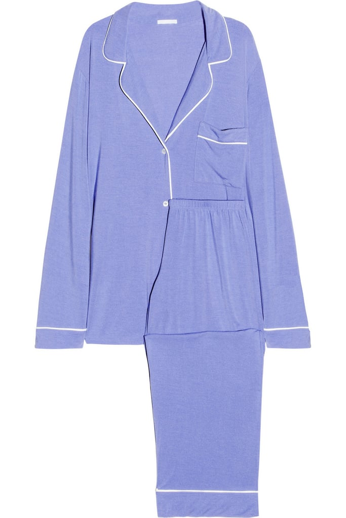 Post-NYE, all I want to do is snuggle up (and nurse my hangover) and unwind from a big night out — preferably in this perfect pair of Eberjey pajamas ($125).  — HW