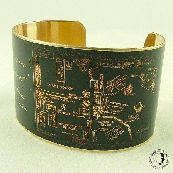 Brass Cuff Bracelet ($42)