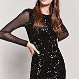 Forever 21 Sequin Mesh Dress