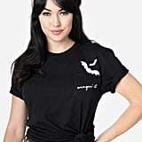 Black Cotton Wingin' It Unisex Tee