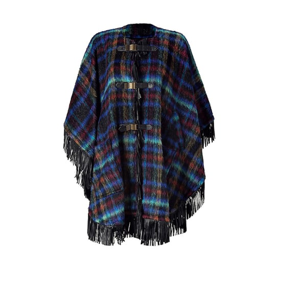 See by Chloé Multicolor Fringed Cape, $1,685