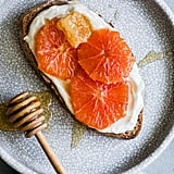 Whole30: Honey Orange Ricotta Toast